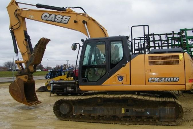 2016 Case 210D Excavator-Track For Sale