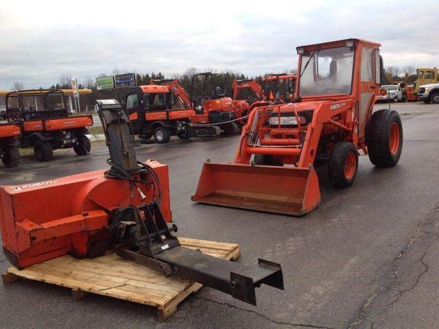 2001 Kubota L3710HST Tractor For Sale