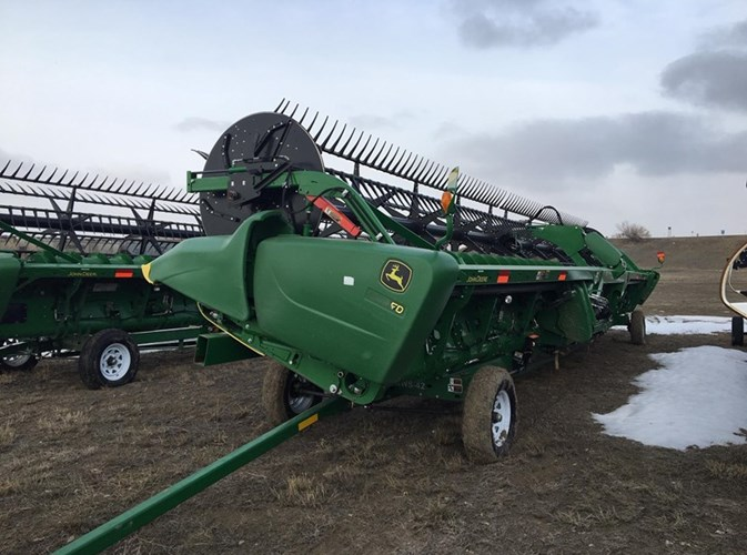 2018 John Deere 640FD Header-Draper/Flex For Sale