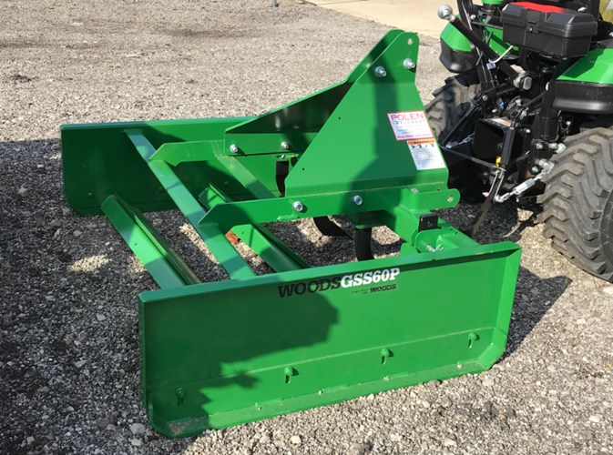 2019 Woods GSS60P Scrapers For Sale