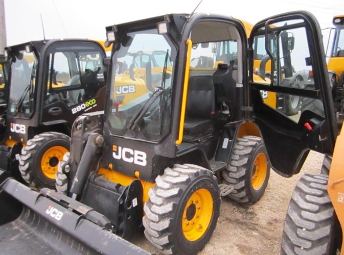 2017 JCB 260 side entry Skid Steer For Sale