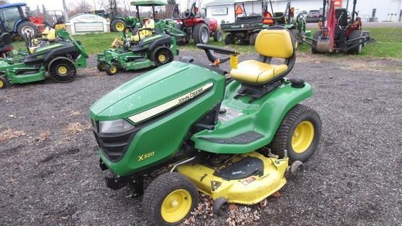 2015 John Deere X320 Lawn Mower For Sale