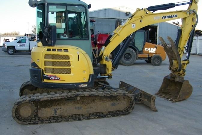 2013 Yanmar VIO55-5 Excavator-Mini For Sale