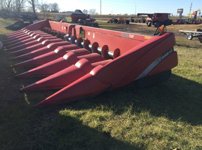 2012 Case IH 3412 Header-Corn For Sale