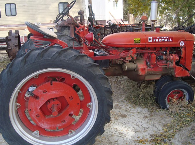1953 IH Super C Tractor For Sale