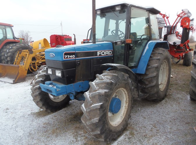 1987 Ford 7740 Tractor For Sale