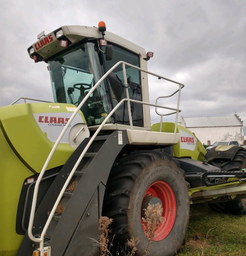 2012 CLAAS 1400 Windrower-Self Propelled For Sale