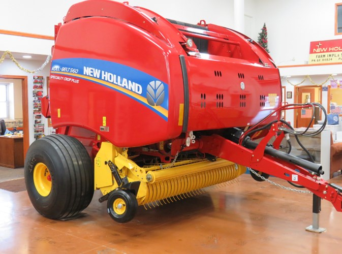 2019 New Holland 560RB Baler-Round For Sale