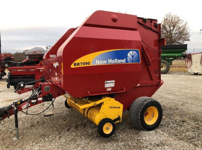 2011 New Holland BR7090 Baler-Round For Sale