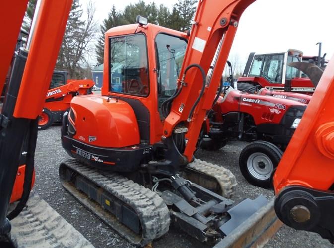 2012 Kubota KX121R3TA Excavator-Mini For Sale