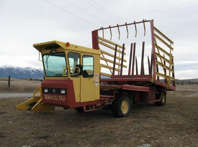 2002 New Holland 1089 Bale Wagon-Self Propelled For Sale