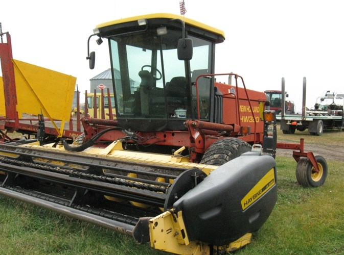 2002 New Holland HW320 Windrower-Self Propelled For Sale