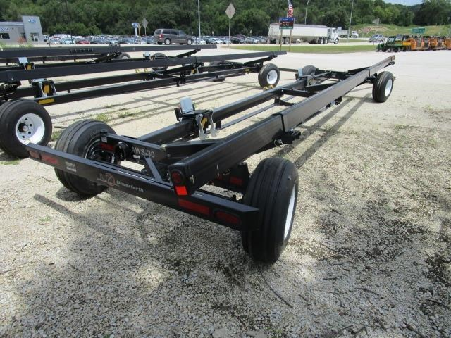 2020 Unverferth AWS 30-Black Header Trailer For Sale