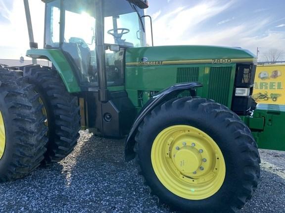 John Deere 7800 Tractor - Row Crop For Sale
