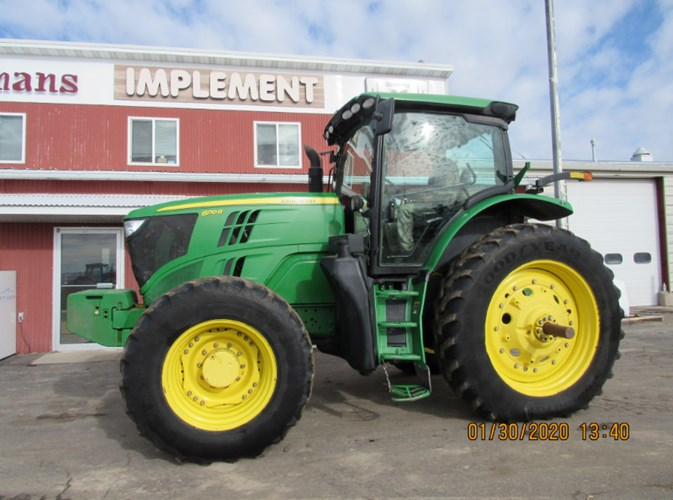 2012 John Deere 6170R MFD Tractor For Sale