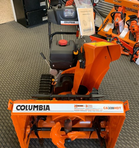 Columbia CA328HDT Snow Blower For Sale