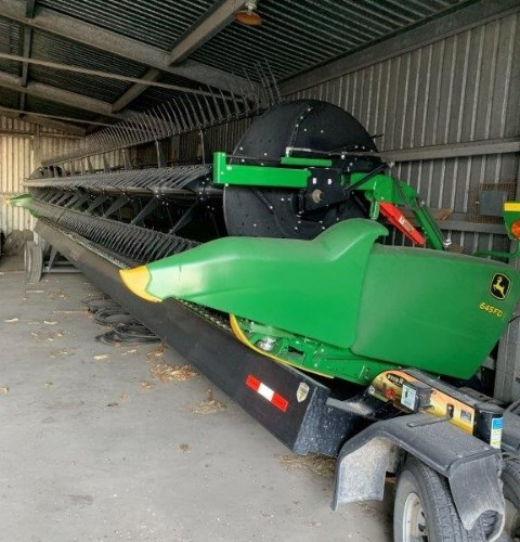 2017 John Deere 645FD Header-Draper/Flex For Sale