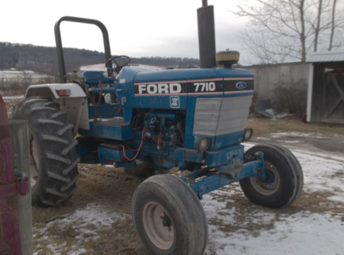 1990 Ford 7710 Tractor For Sale
