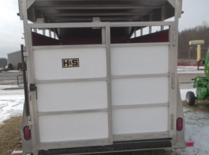 2011 H & S 6x10 Farm Trailer For Sale