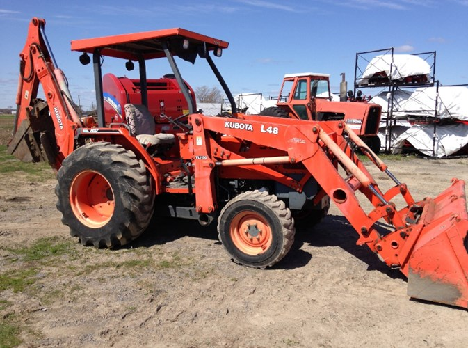 2001 Kubota L48TLB Tractor For Sale