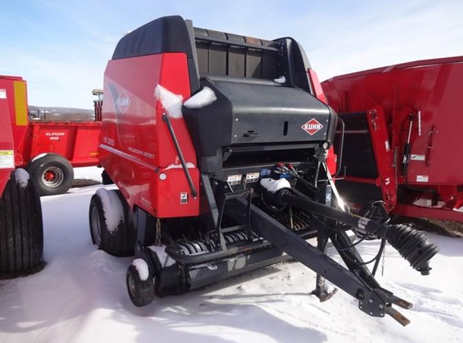 2015 Kuhn VB2160 Baler-Round For Sale