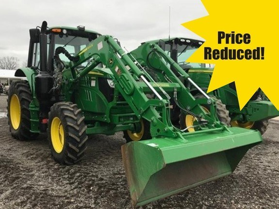 2016 John Deere 6110M Tractor - Utility For Sale