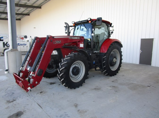 2014 Case IH MAXXIUM 125 Tractor For Sale