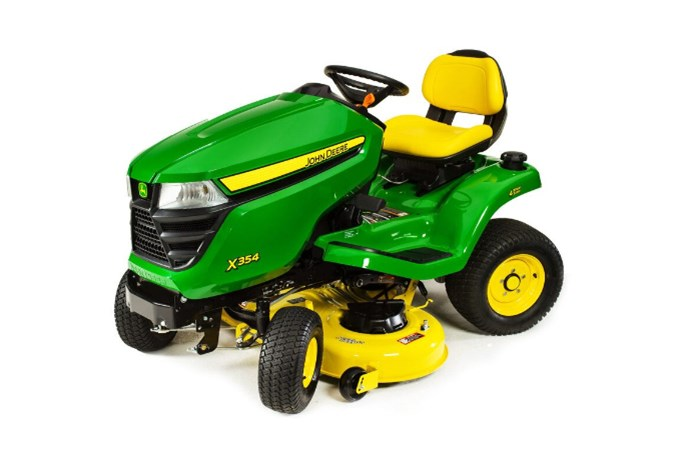 John Deere X354 Riding Mower For Sale
