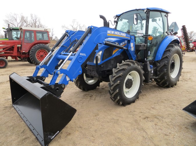 2019 New Holland Powerstar 90 Tractor For Sale
