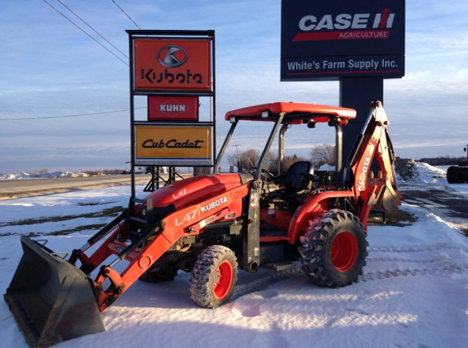 2016 Kubota L47TLB Tractor For Sale