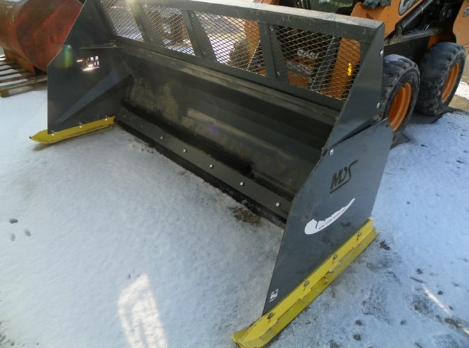 2015 MDS Manufacturing Pusher + Snow Blade For Sale