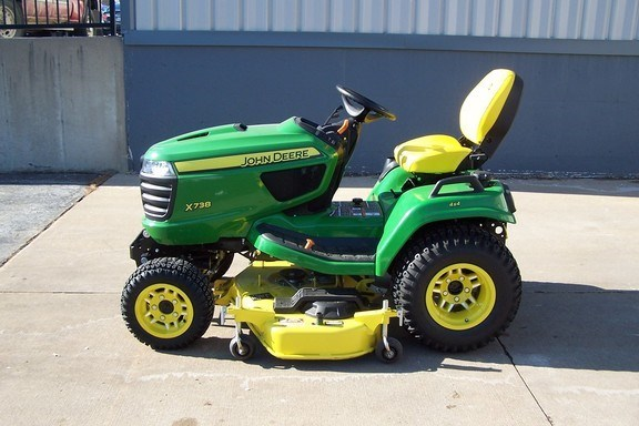 2019 John Deere X738 Riding Mower For Sale