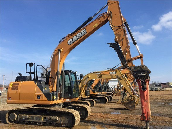 2017 Case CX160D Excavator-Track For Sale