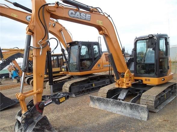 2017 Case CX80C Excavator-Track For Sale