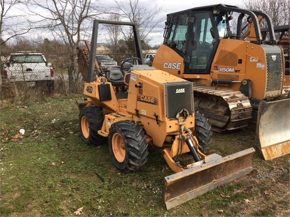 2001 Case 460 Trencher-Rubber Tires For Sale