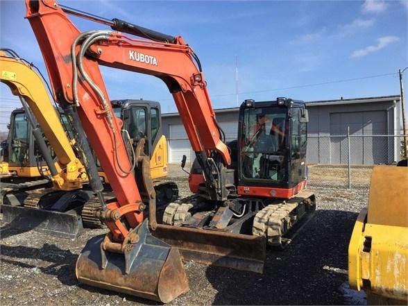 2014 Kubota KX080-4 Excavator-Track For Sale