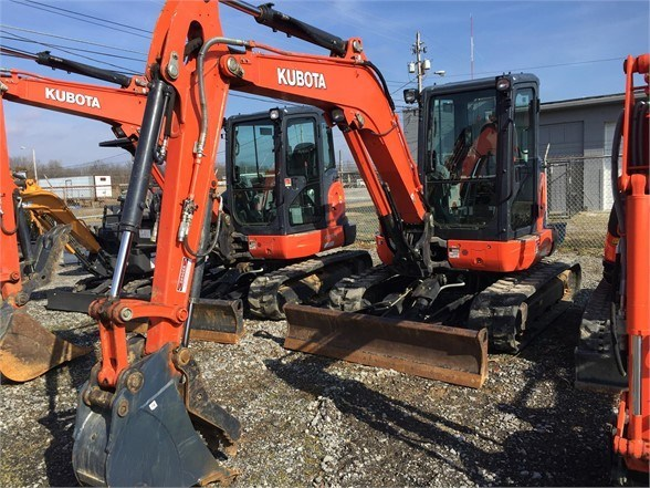 2018 Kubota U55-4 Excavator-Mini For Sale