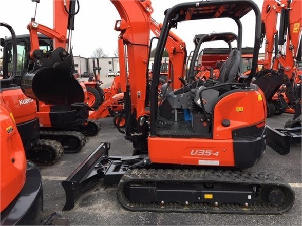 2017 Kubota U35-4 Excavator-Mini For Sale
