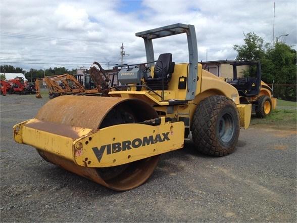 2005 Vibromax VM116D Compactor-Asphalt For Sale