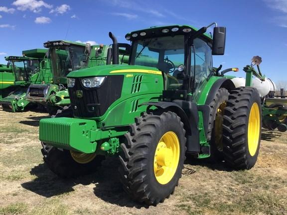 2018 John Deere 6195R Tractor - Row Crop For Sale