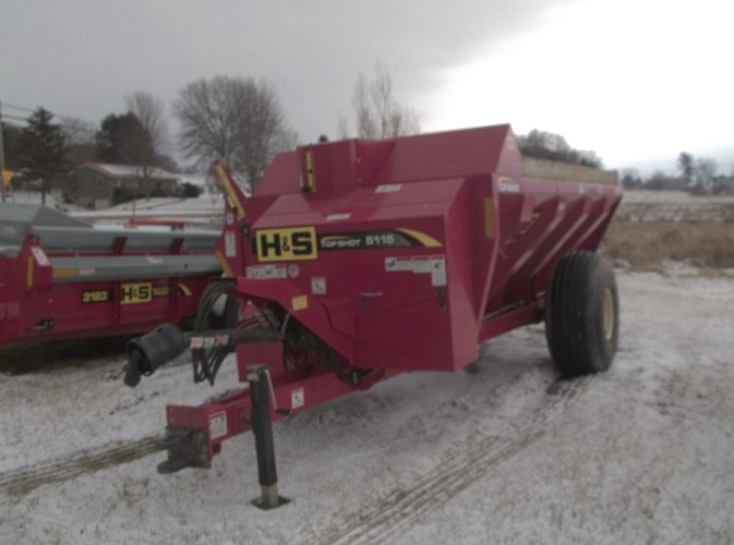 2014 H & S TS5115 Manure Spreader-Liquid For Sale