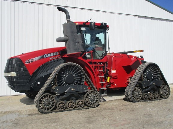 2014 Case IH Steiger 420 Rowtrac Tractor - Track For Sale