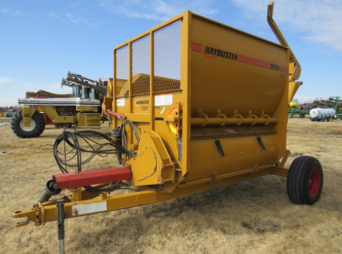 2003 Haybuster 2650 Bale Processor For Sale