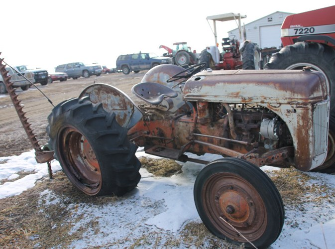 Ford 8M Tractor For Sale