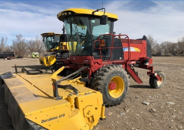 2012 New Holland H8080 Windrower-Self Propelled For Sale