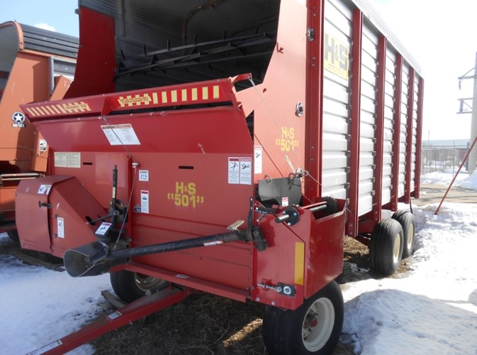 H & S 501 Forage Box For Sale
