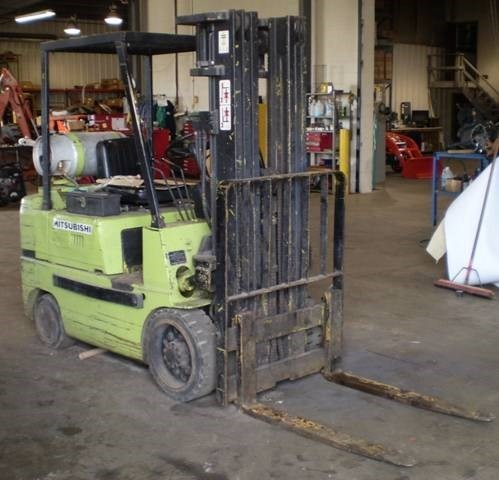 1984 Mitsubishi FGC-25 Lift Truck/Fork Lift For Sale