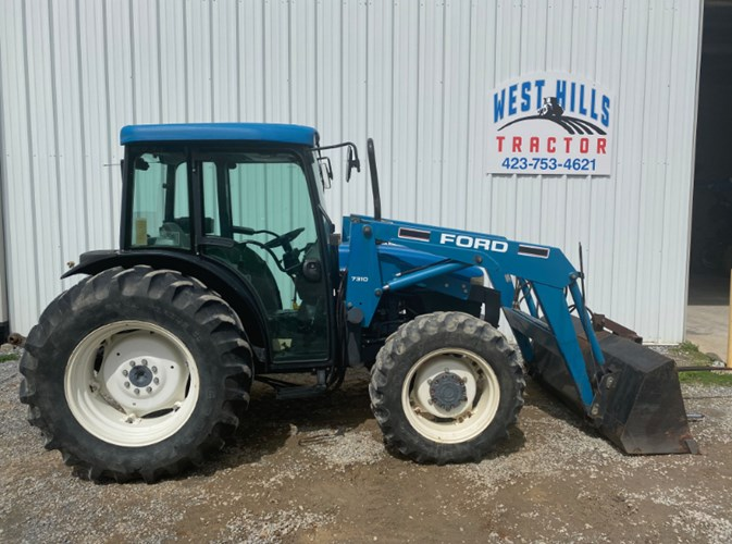2000 New Holland TN75D Tractor For Sale