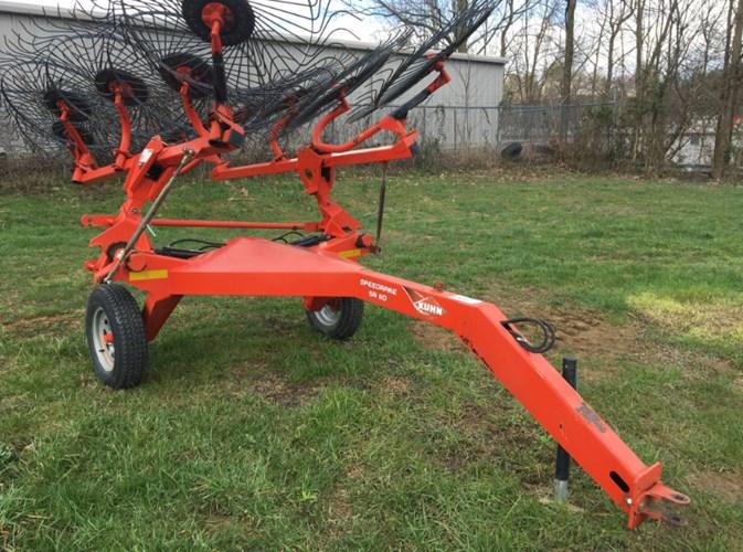 2012 Kuhn SR-110 Hay Rake-Unitized V Wheel For Sale