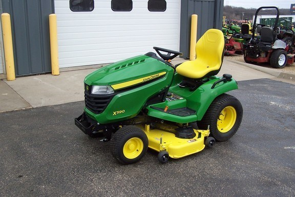 2019 John Deere X590 Riding Mower For Sale